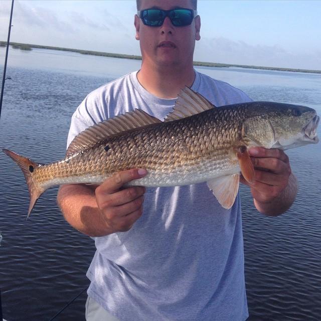Louisiana redfish Capt. Hunter Ray